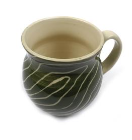 Art Curved Lines Mug by Laurel Diciuccio
