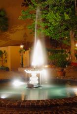 Art Fountain at Night in Charleston SC Print