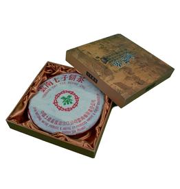 Teas Green Pu-Erh Cake in a Gift Box