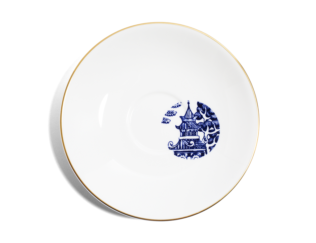 Tea products Richard Brendon Teacup & Saucer - Willow Pattern