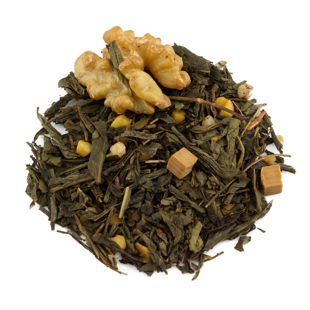 Teas Holiday Benne Wafer - Flavored Green Tea