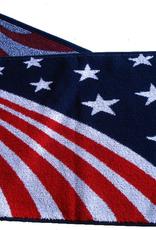 Textiles USA Waving Flag Sport Towel