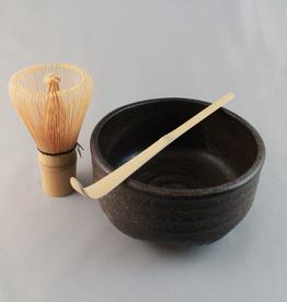 Tea products Matcha Tea Starter Set with Black Bowl