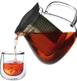 Tea products Tea Control 0.4l | 14 oz with stainless steel knob & coaster