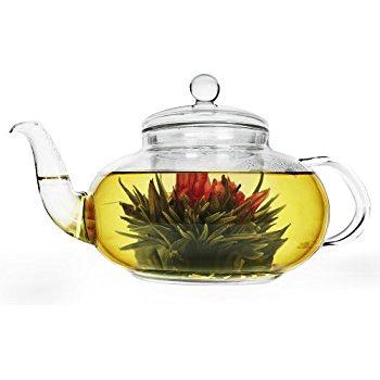 Tea products Daisy Glass Teapot 40oz
