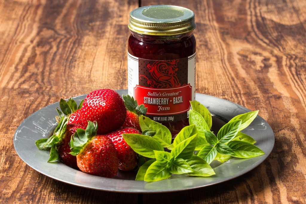 Tea products Strawberry and Basil Jam 5oz