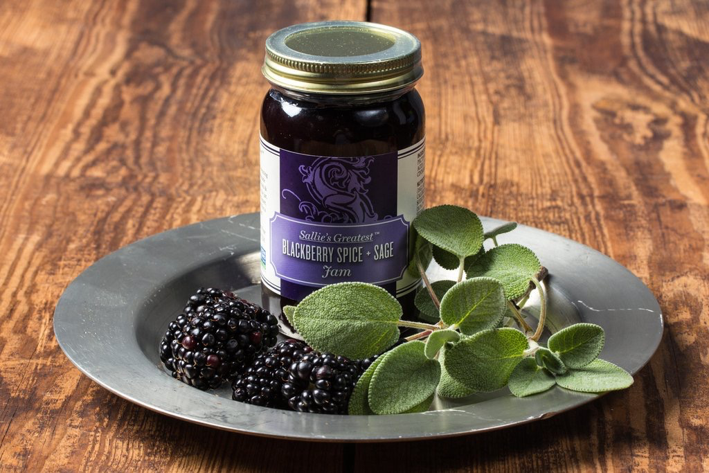 Tea products Blackberry Spice and Sage Jam 5oz