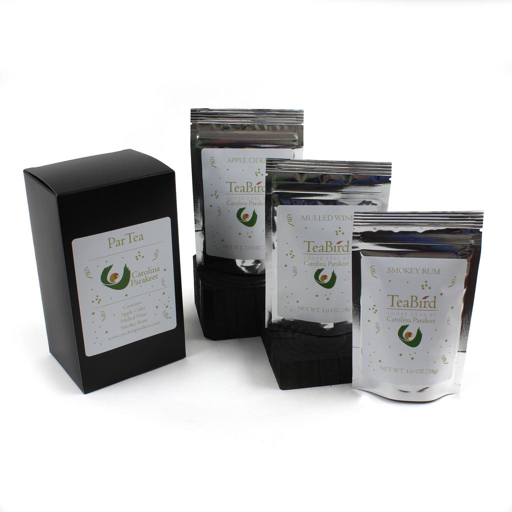Teas Gift Box ParTea 1. Apple Cider 2. Mulled Wine 3. Smokey Rum