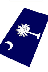Textiles South Carolina Flag - Sheared Jacquard Beach Towel