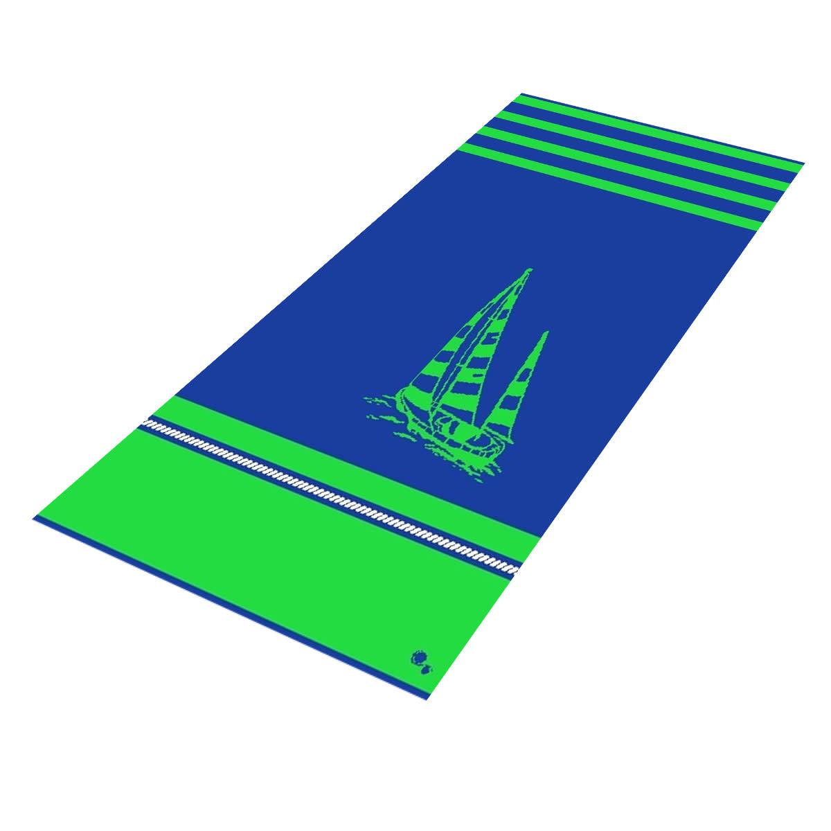 Textiles Admiral's Cup - Sheared Jacquard Beach Towel