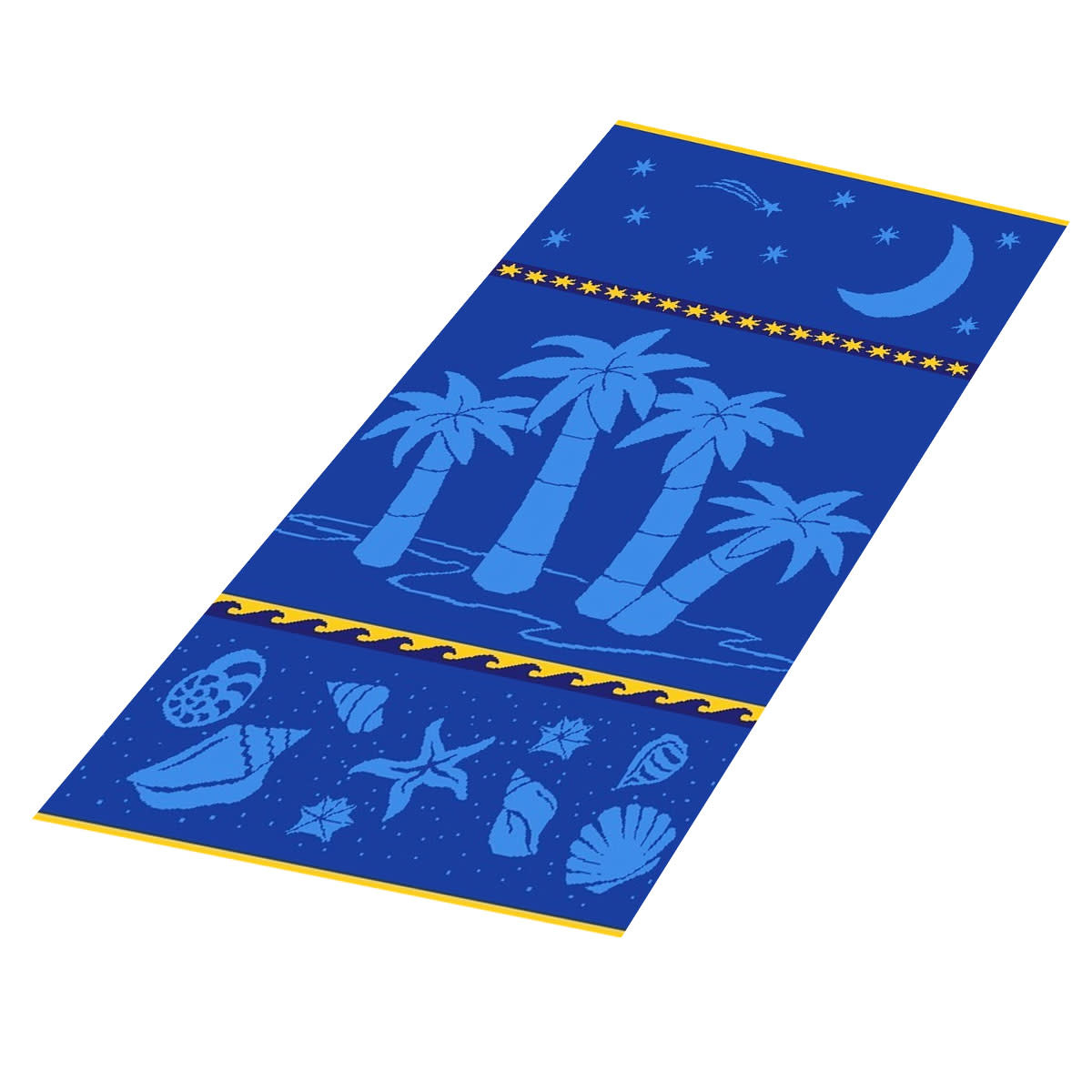 Textiles Aloha - Sheared Jacquard Beach Towel
