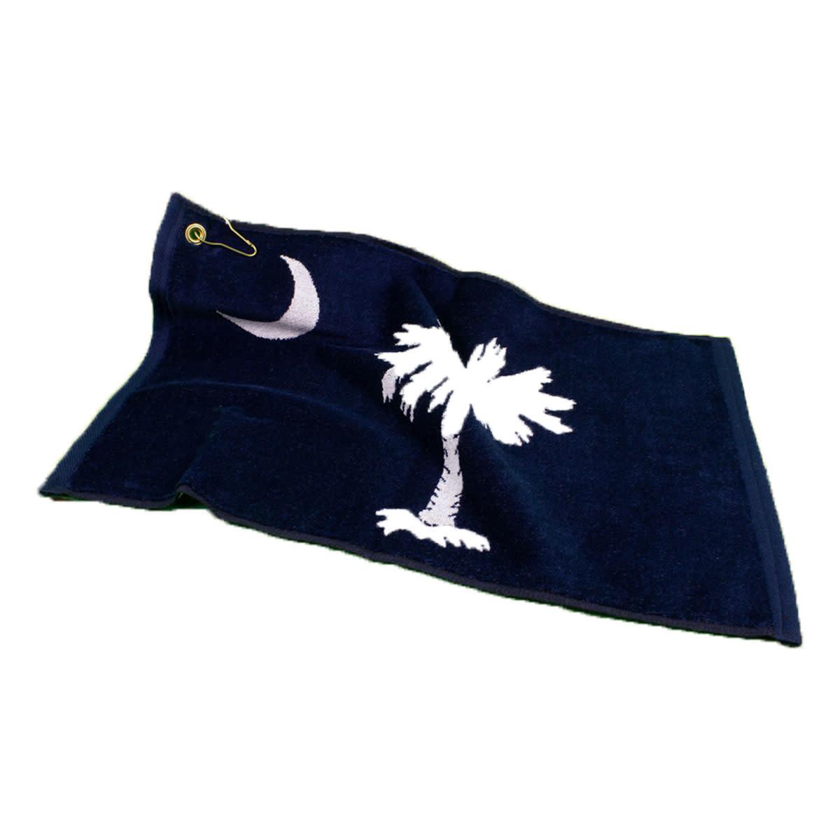 Textiles SC Flag - Sheared Jacquard Golf Towel