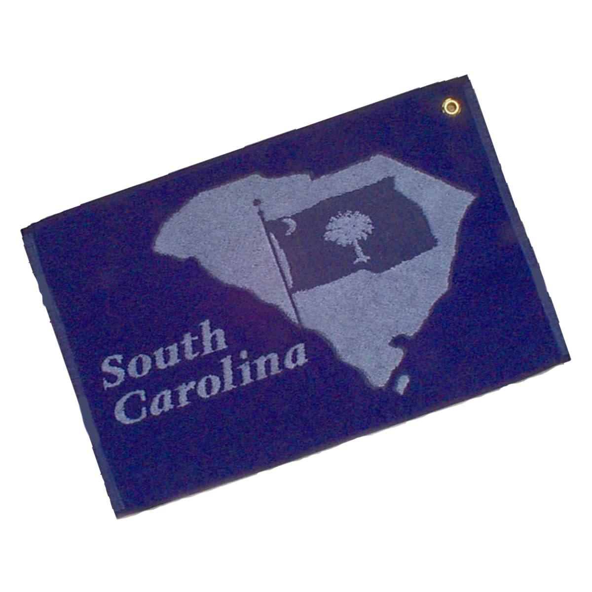 Textiles SC Flag Golf Towel