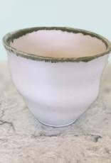 Art Chiu's Tea Shell Light Green Rim