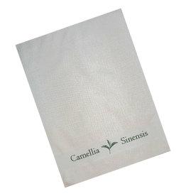 Textiles Tea Towel with Camellia Sinensis Border Design