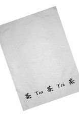 Textiles Tea Towel with Tea Border Design