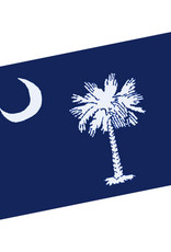 Textiles South Carolina Flag Throw