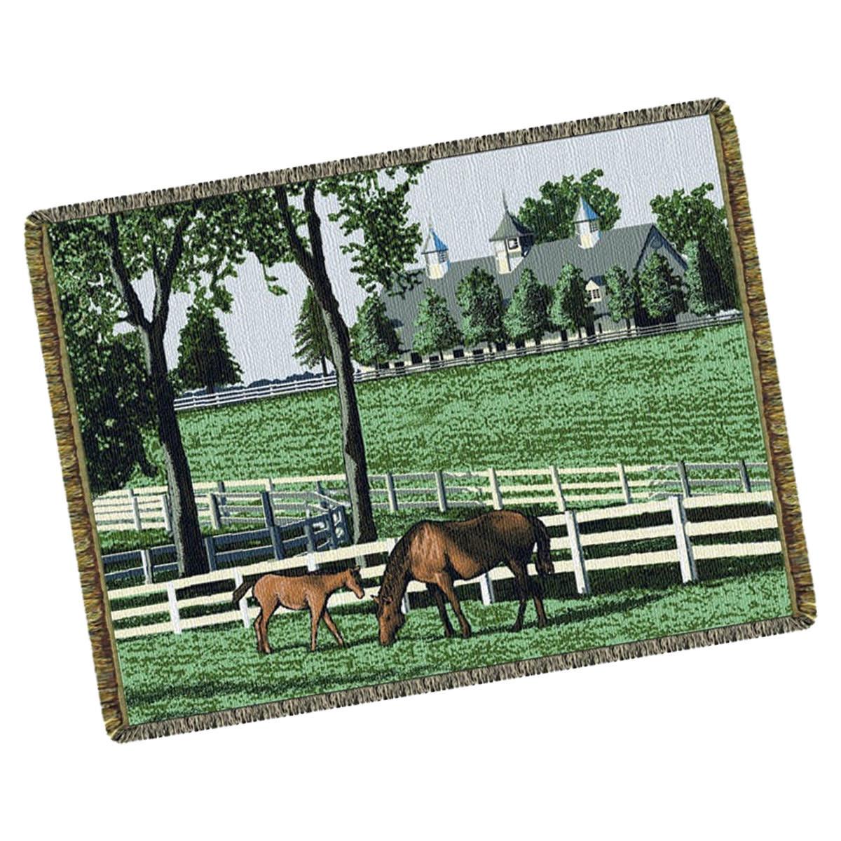 Textiles Kentucky Dreamin - Horses Throw