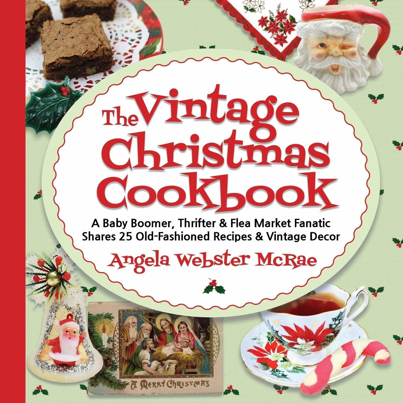 Gift Items The Vintage Christmas Cookbook