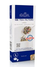 Tea products 100 TEA FILTERS size L white
