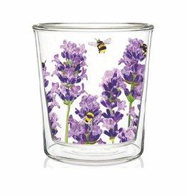 Tea Glass - Bees & Lavender