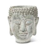 FT Pembroke Buddha Head planter