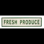 FT Pembroke Tin Fresh Produce Sign