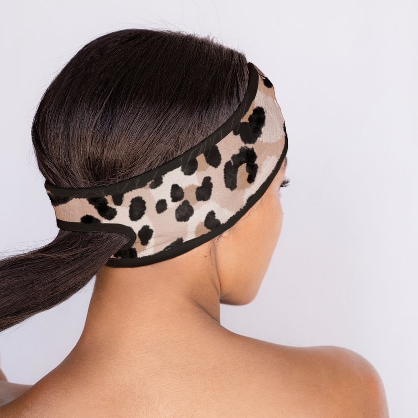 Kitsch Microfiber Spa headband - leopard
