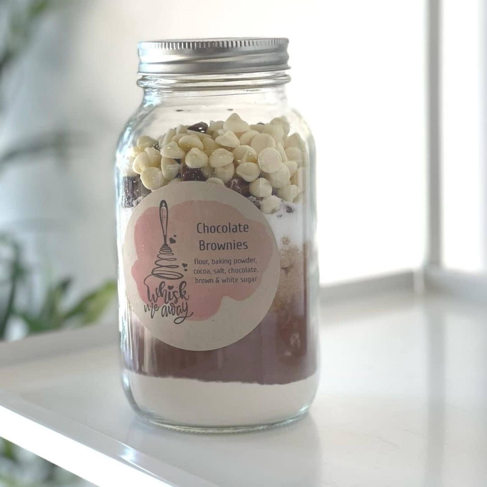 Whisk Me Away Chocolate Brownie Jar