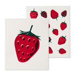 Abbott Swedish cloth pack of 2 - strawberry