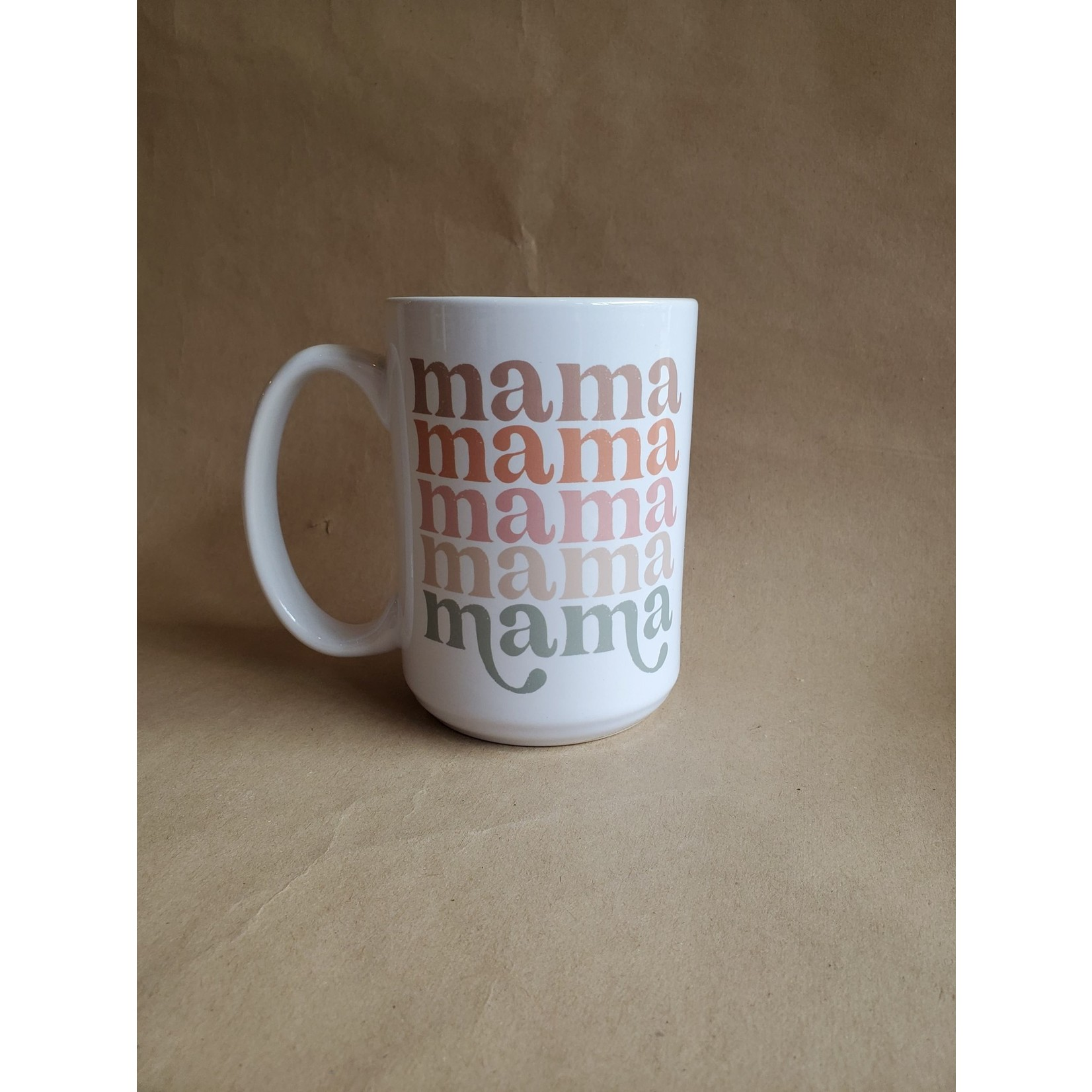 favourite things apparel Mama Retro Mug