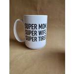 favourite things apparel Super Mom Mug