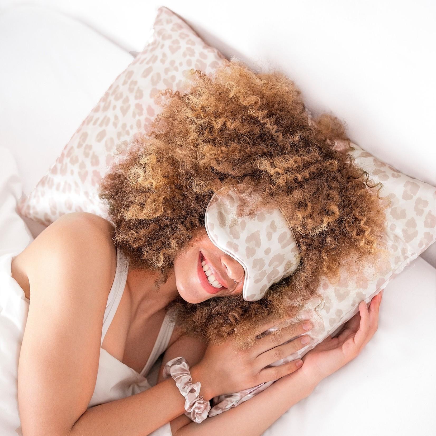 Kitsch Satin Pillowcase - leopard