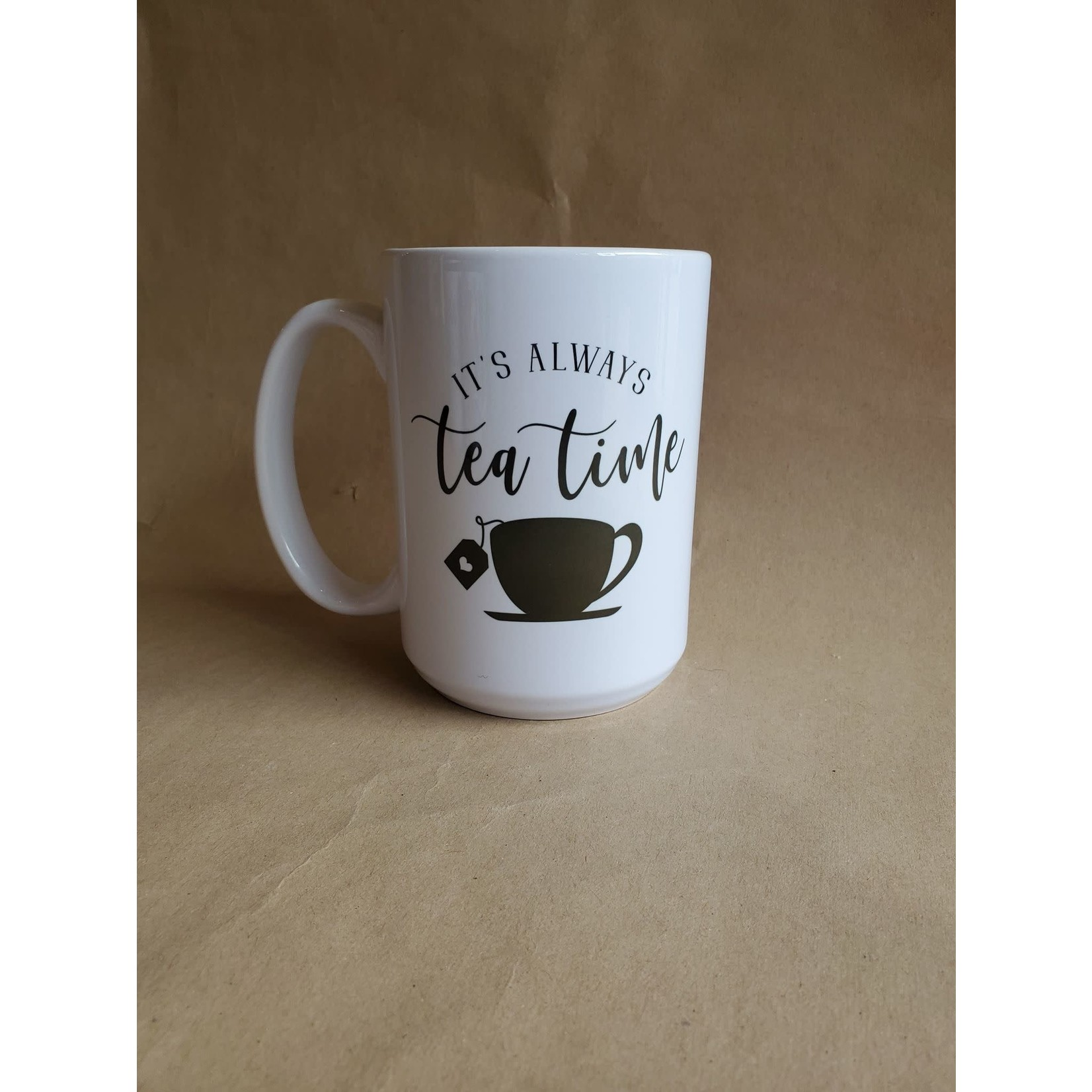 favourite things apparel It's always tea time mug