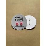 Emmy's Earrings Pink pearl Emmy's earrings