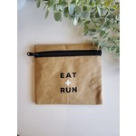 Be Our Guest Kraft Paper Insulated Snack Bag - Eat + Run