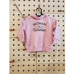 favourite things apparel 2T Woman for Woman hoodie -pink