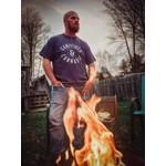 favourite things apparel Men's T-shirt: Campfire & Cannabis