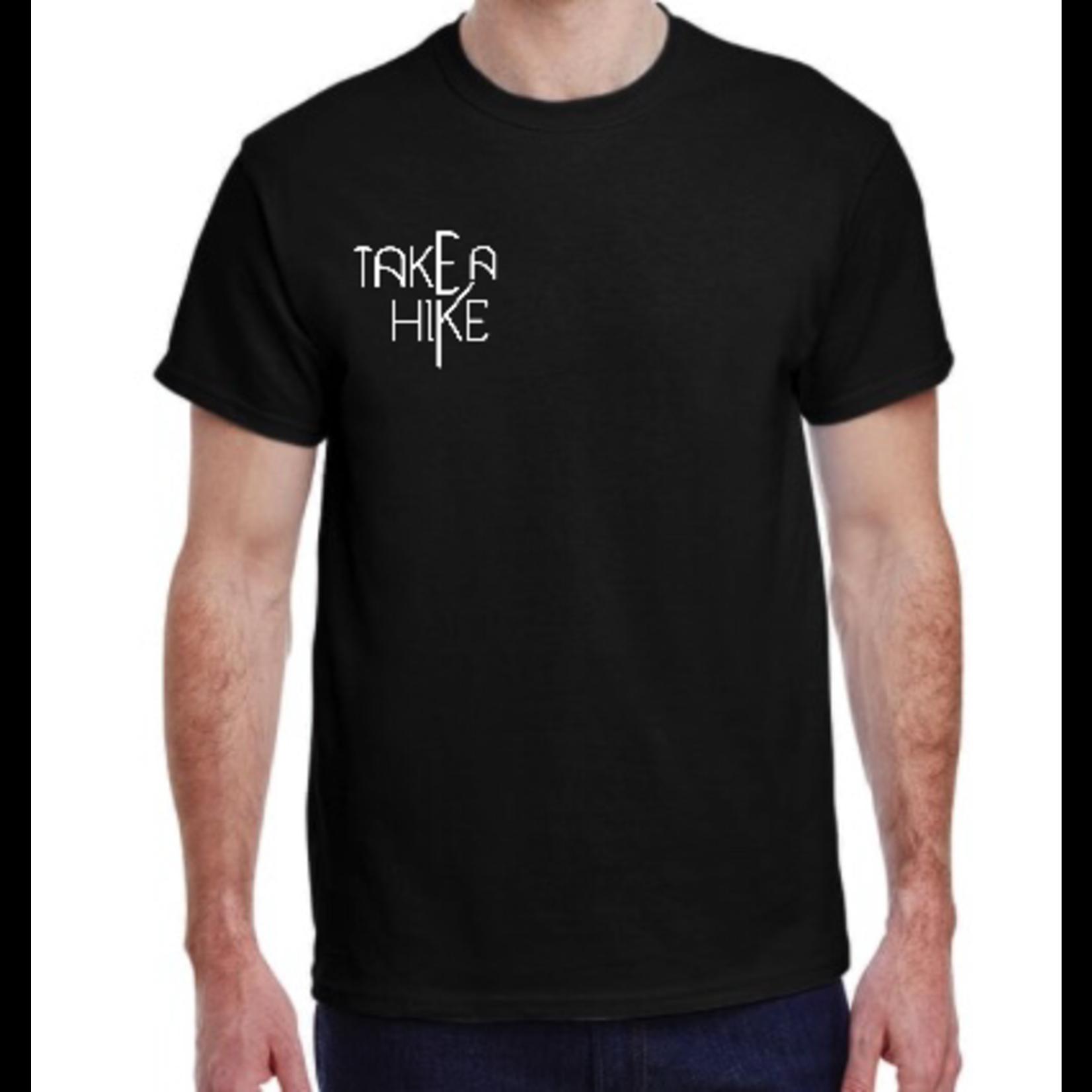 favourite things apparel Mens T-shirt: Take a hike