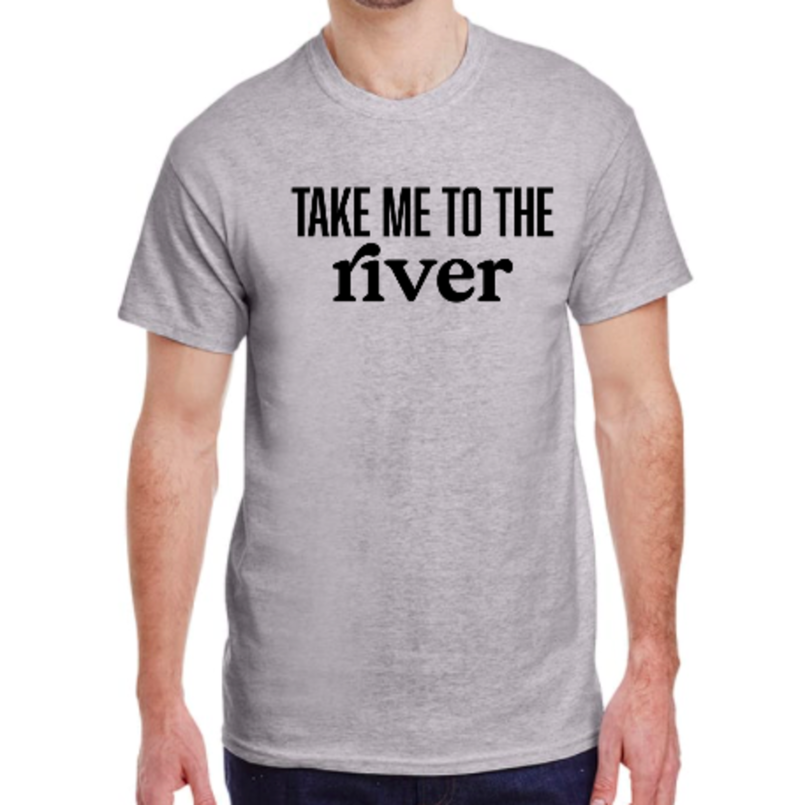 favourite things apparel Men's T-shirt: Take me to the river