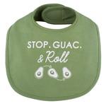 Stephan Baby Stop Guac & Roll Bib