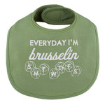 Stephan Baby Everyday I'm Brusselin bib