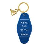 Santa Barbara Vintage Motel Style Keychain - Keys to The Dream House