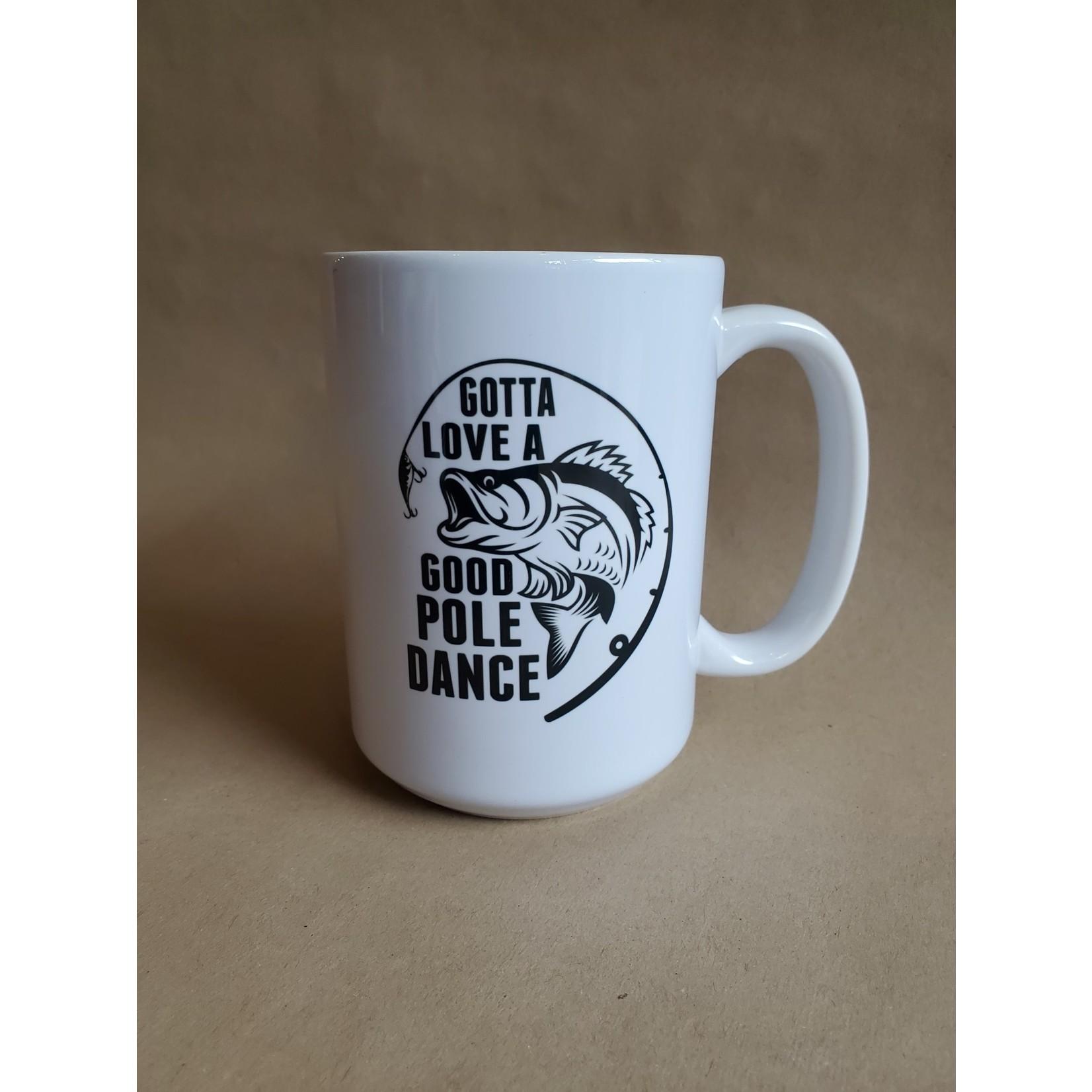 Favourite Textiles Gotta love a good pole dance mug