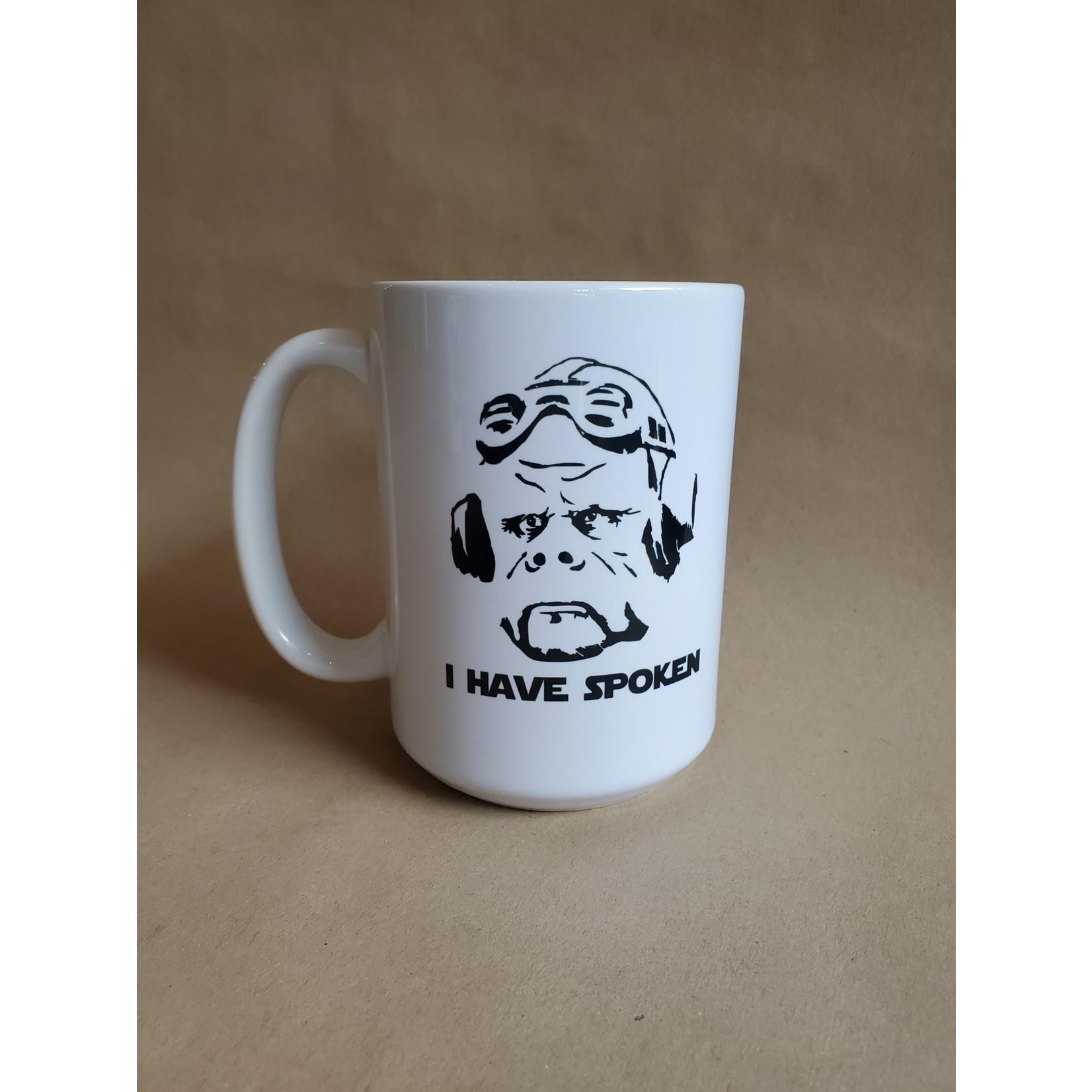 Favourite Textiles I Have Spoken Mug