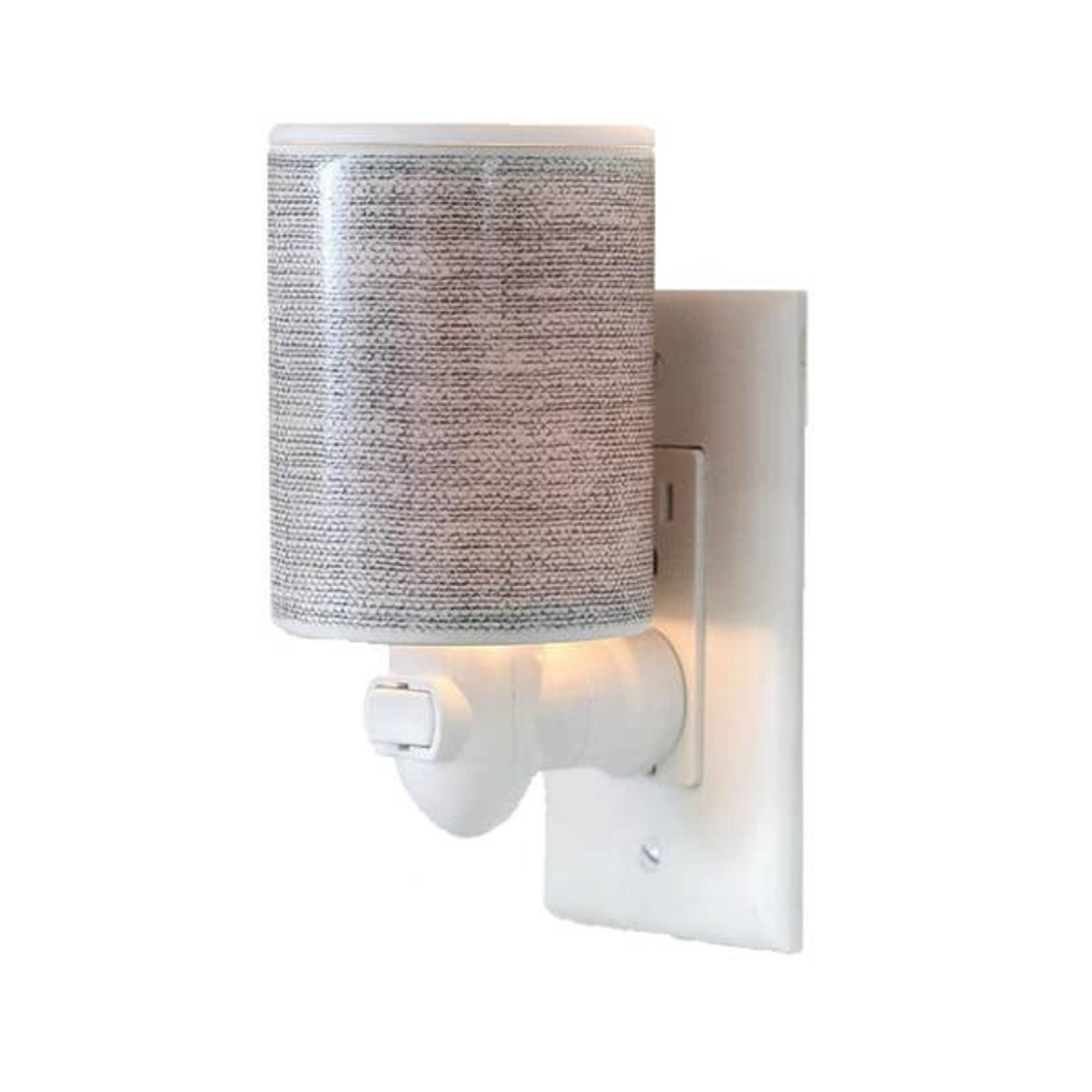 Happy Wax Outlet warmer - Grey linen