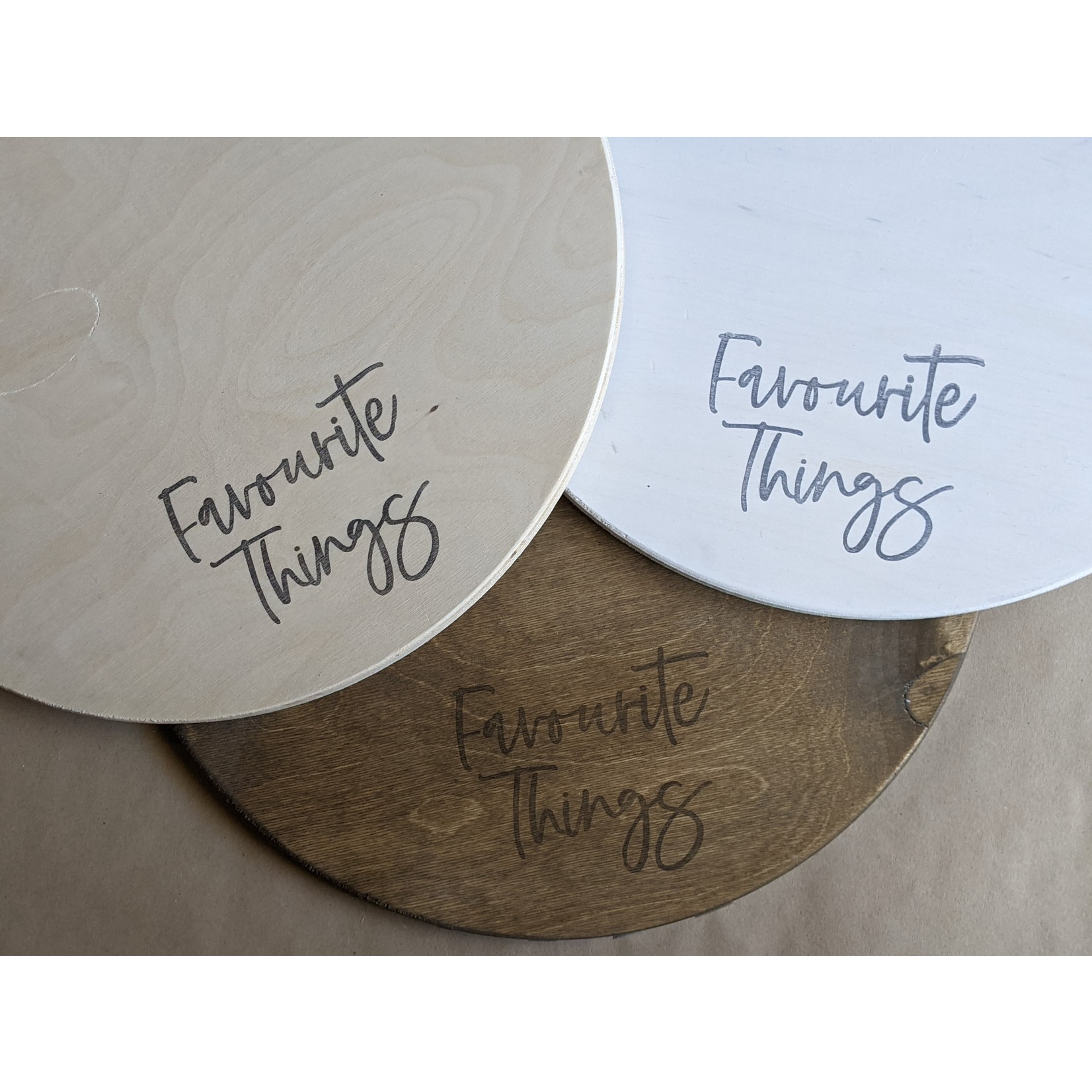 Favourite Things wood DIY kit picture Hanger - Dad (define.)