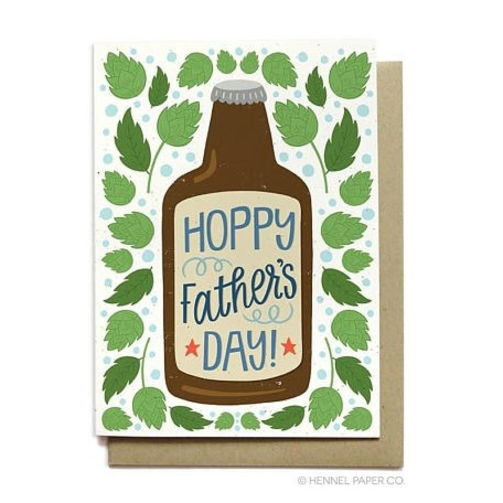 Hennel Paper Co. Hoppy Father's Day card