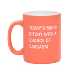 About Face Today's mood: bitchy with a chance of sarcasm