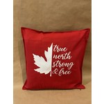 favourite things custom True North strong and free -Pillow